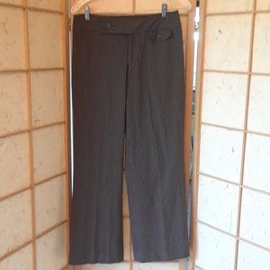 Nine west brown and black trouser pants size 4